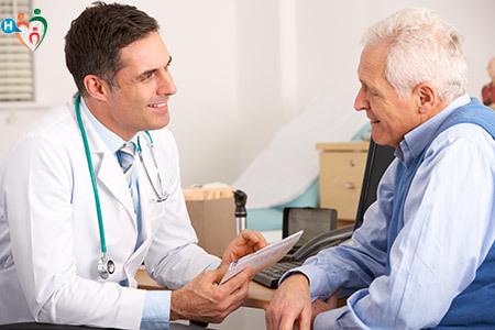 Immagine che mostra il rapporto medico-paziente