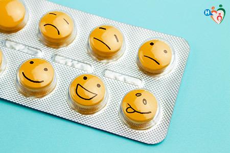Immagine di pillole antidepressive