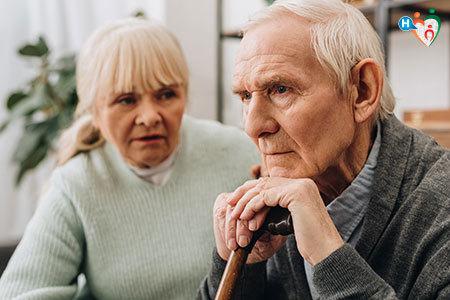 Immagine di due anziani