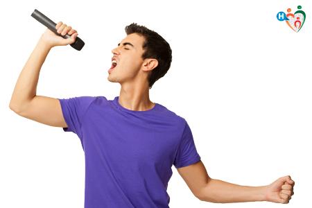 cantare e mal di gola
