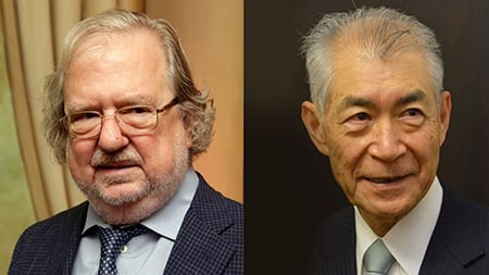 James Allison e Tasuku Honjo - Premio Nobel Medicina 2018