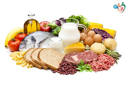 Immagine che ritrae alimenti vari