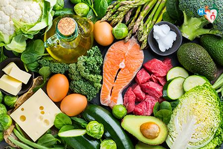 Immagine che ritrae alimenti tipici della dieta Atkins