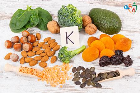 Fotografia che raffigura alimenti contenenti vitamina k