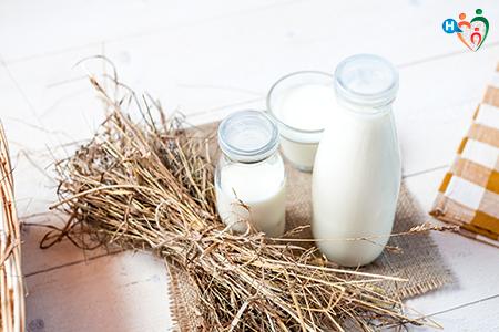 Fotografia che raffigura contenitori di latte