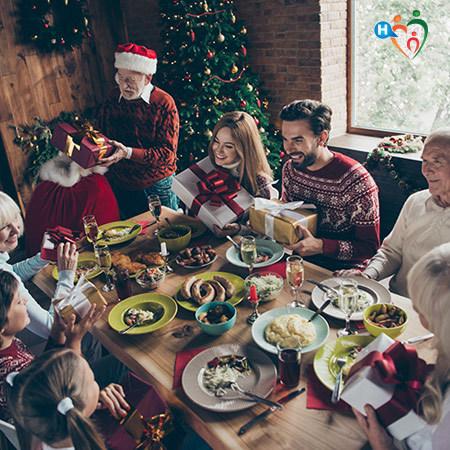 Pranzo Natalizio con bambini e anziani