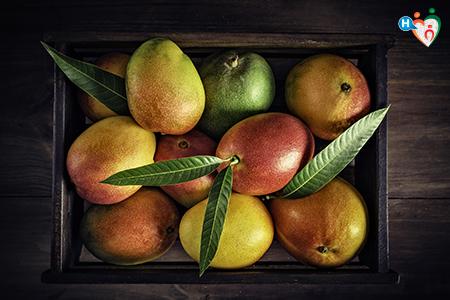 Immagine che ritrae cesta di mango