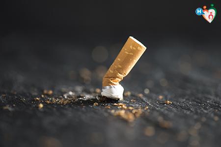 Immagine che ritrae una sigaretta spenta