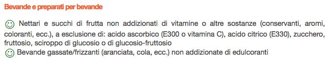 Celiachia elenco alimenti bevande