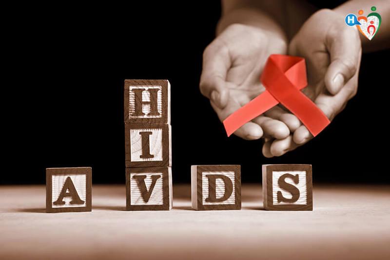 HIV e AIDS, immagine dei cubi