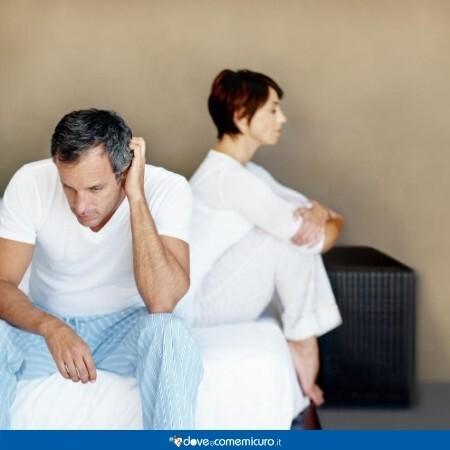 Immagine che mostra una coppia in crisi