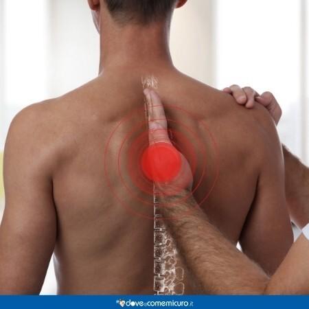 Immagine che mostra un trattamento fisioterapico alla schiena