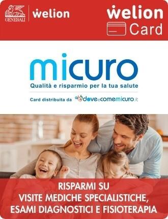 Immagine che mostra la Welion Card - MiCuro