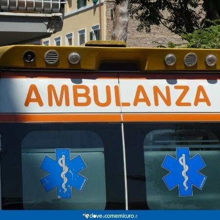 Immagine che rappresenta un'ambulanza del Pronto Soccorso o 118