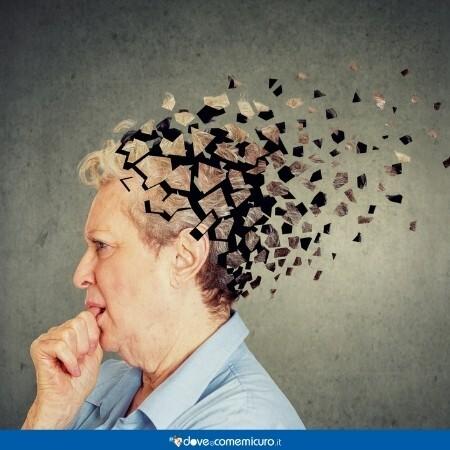 Immagine che rappresenta la memoria di una donna che si sta sgretolando