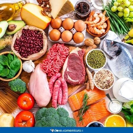 Immagine che rappresenta una tavola imbandita di cibo