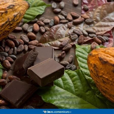 Immagine che rappresenta dei cicchi di cacao