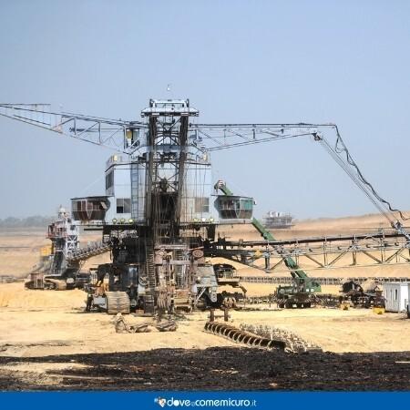 Immagine che rappresenta l'estrazione del petrolio