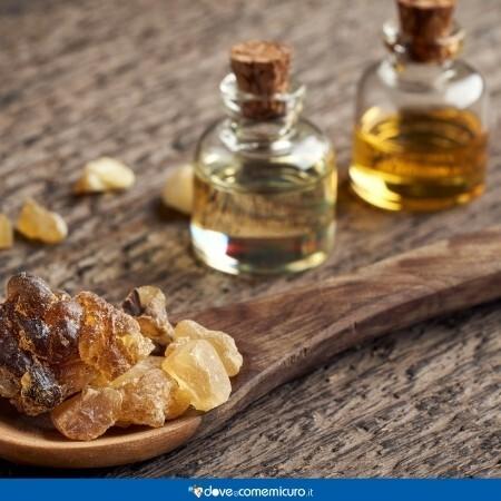 Immagine che rappresenta l'olio di Boswellia serrata Roxb. ex Colebr