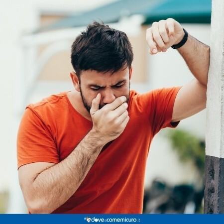 Immagine che rappresenta una persona che soffre di nausea