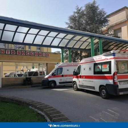 Immagine che rappresenta l'ingresso di un pronto soccorso