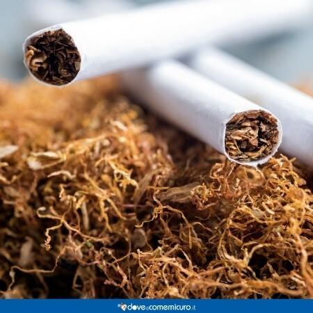 Immagine che rappresenta delle sigarette e il tabacco
