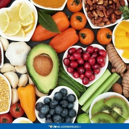 Immagine che rappresenta delle cibo antiossidante