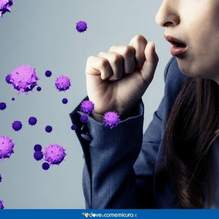 Immagine che rappresenta una persona che tossisce