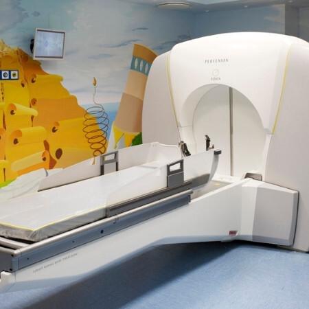 Immagine che rappresenta la macchina per la tac al cervello