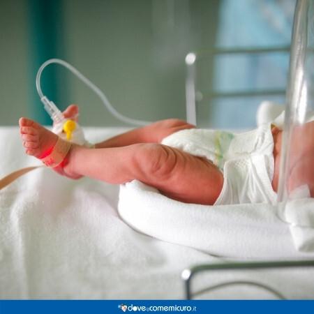 Immagine che rappresenta un neonato in ospedale