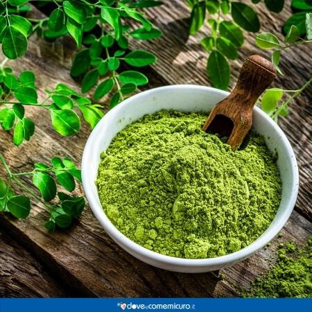 Immagine che rappresenta un preparato Moringa oleifera Lam. (Albero del rafano)