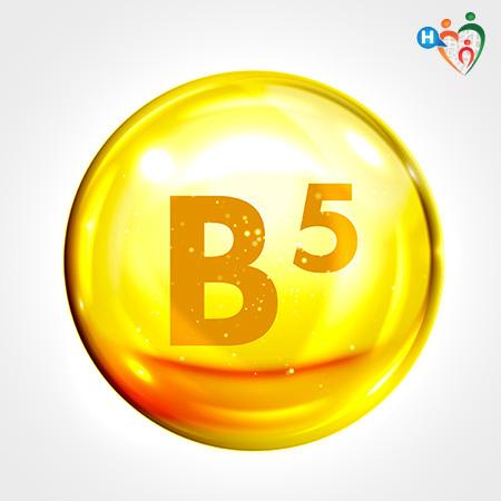 Molecolo Vitamina B5