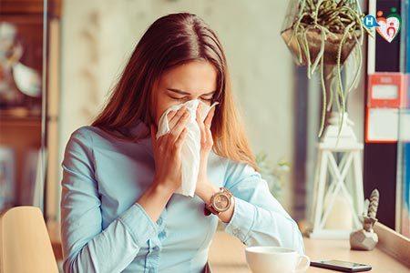 Immagine con Influenza e Raffreddore
