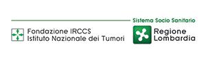 Immagine con logo dell'istituto nazionale dei tumori