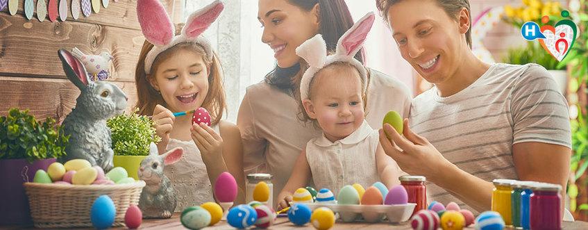 Pasqua e bambini: alimentazione, gioco e divertimento