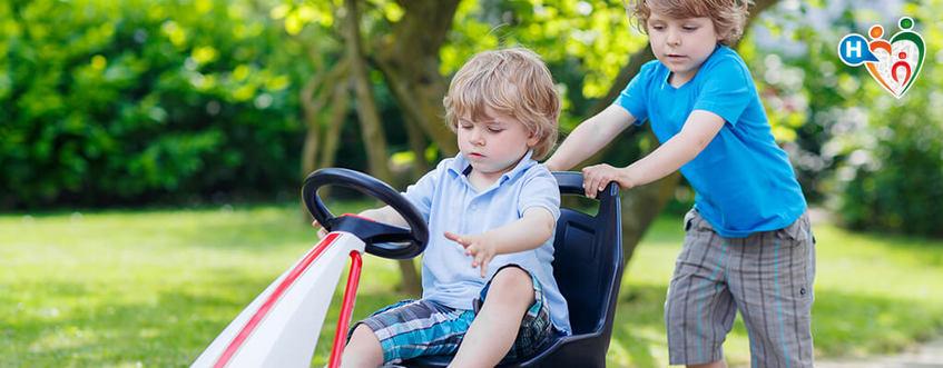 Mal d'auto, in soccorso ai piccoli