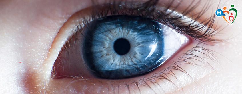 Questione di bulbo oculare