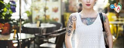Tatuaggi: chi ne abusa smette di sudare
