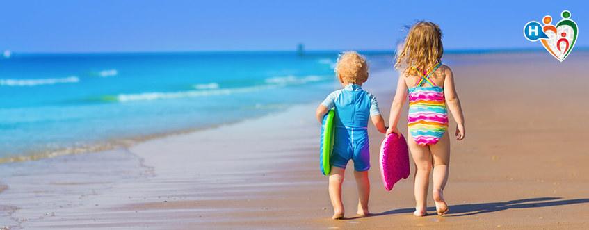Bandiere verdi: le spiagge promosse dai pediatri italiani