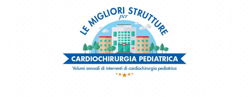 Cardiochirurgia Pediatrica: la classifica per volumi