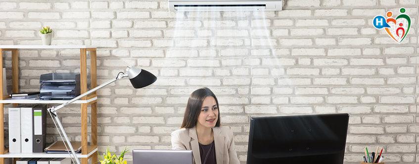 Il bon ton dell'aria condizionata: come sopravvivere in ufficio