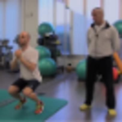 Fisioterapia: squat