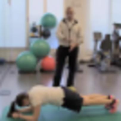 Fisioterapia: plank
