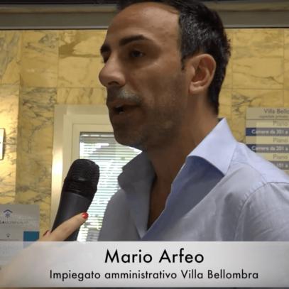 L'Ospedale Villa Bellombra e il primo contatto con il paziente