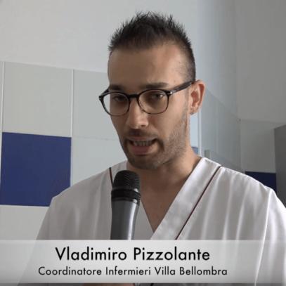 Gli infermieri a Villa Bellombra - l'ospedale riabilitativo a Bologna